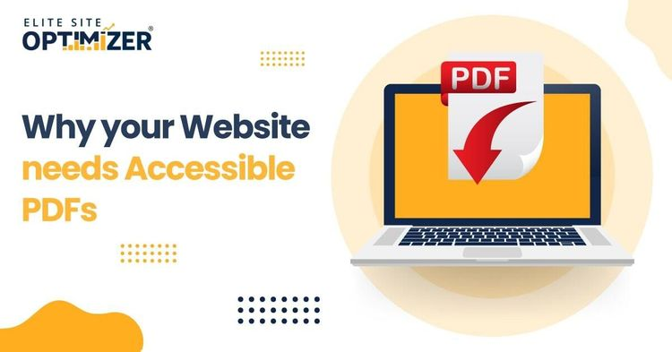 Website Needs Accessible PDFs