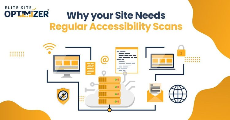 Site Needs Regular Accessibility Scans